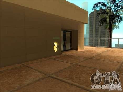 Asesoría jurídica de empresa Cidžeâ para GTA San Andreas quinta pantalla