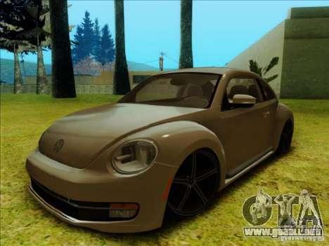 Volkswagen New Bettle 2013 Edit para GTA San Andreas left