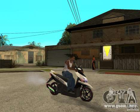 Honda Click para la visión correcta GTA San Andreas