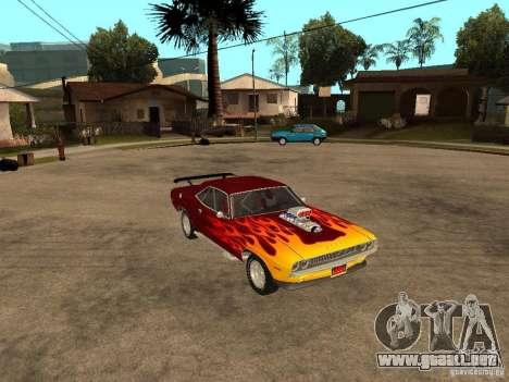 Dodge Challenger Tuning para la visión correcta GTA San Andreas