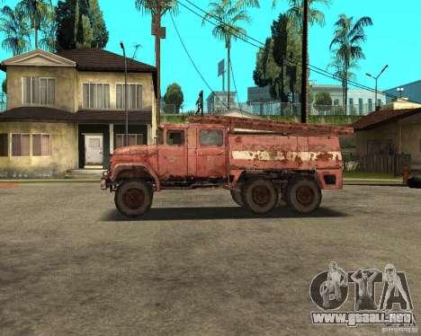 ZIL 131 para GTA San Andreas left