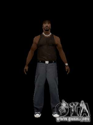 Alex Mercer para GTA San Andreas sucesivamente de pantalla