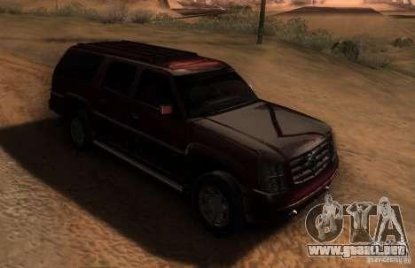 Cadillac Escalade ESV 2006 para GTA San Andreas