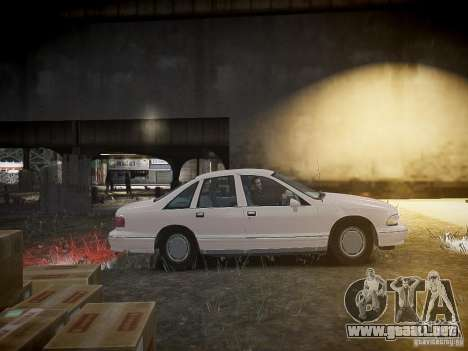 Chevrolet Caprice 1993 Rims 1 para GTA 4 vista interior
