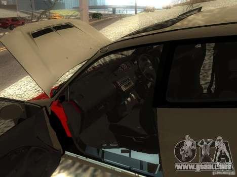 Honda Civic EG6 JDM para visión interna GTA San Andreas