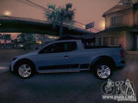 Volkswagen Saveiro Cross para GTA San Andreas left