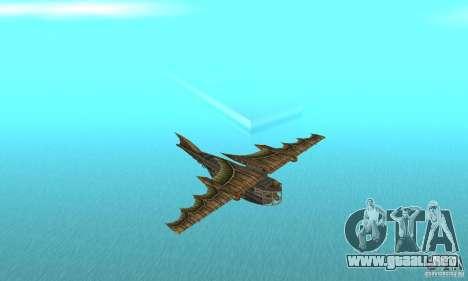 Muy lindo avión de TimeShift para GTA San Andreas