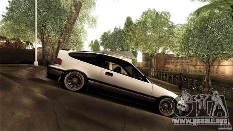 Honda CRX JDM para GTA San Andreas left