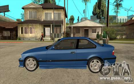 BMW M3 E36 1997 para GTA San Andreas left