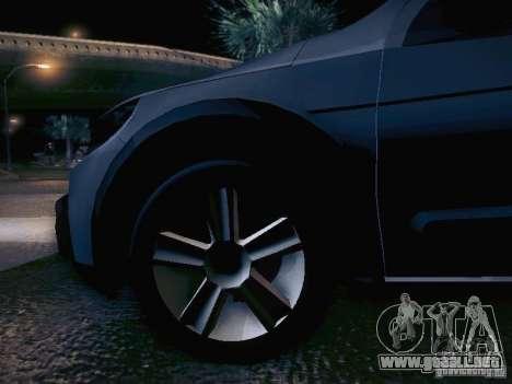 Volkswagen Saveiro Cross para vista inferior GTA San Andreas