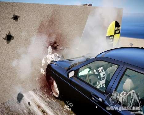 Crash Test Dummy para GTA 4 adelante de pantalla