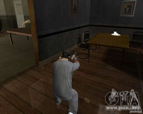 Ingram MAC-10 del counter-strike para GTA San Andreas tercera pantalla