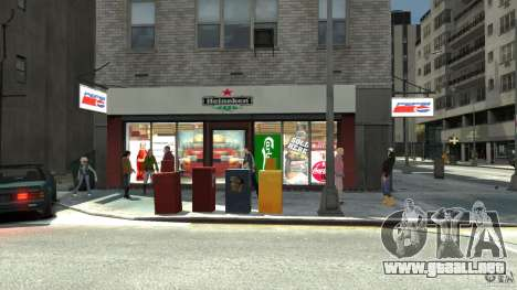 New gas station para GTA 4 quinta pantalla