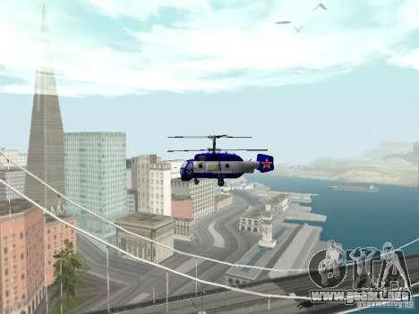Ka-27 para visión interna GTA San Andreas