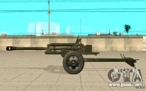 La pistola ZiS-3 para GTA San Andreas left