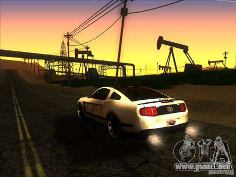 ENBSeries by Fallen v2.0 para GTA San Andreas sucesivamente de pantalla