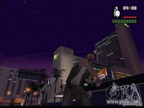 Cielo estrellado v2.0 (para SA: MP) para GTA San Andreas segunda pantalla