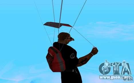 El nuevo paracaídas para GTA San Andreas sexta pantalla