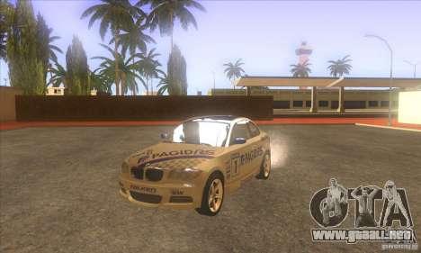 BMW 135i (E82) para visión interna GTA San Andreas