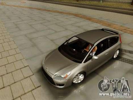 Citroen C4 para la visión correcta GTA San Andreas