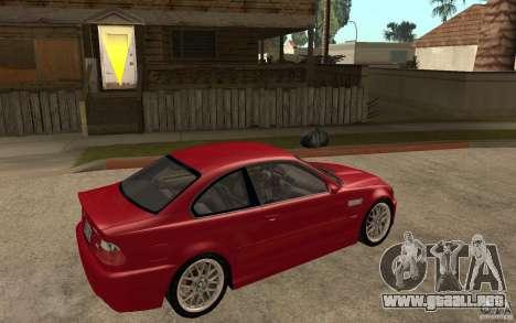 BMW M3 CSL para la visión correcta GTA San Andreas