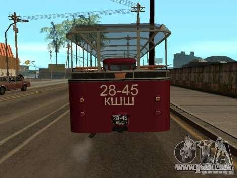 LIAZ 677 excursión para la visión correcta GTA San Andreas
