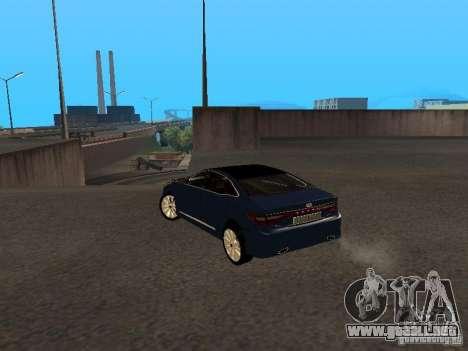 Hyundai Azera 2012 para GTA San Andreas left