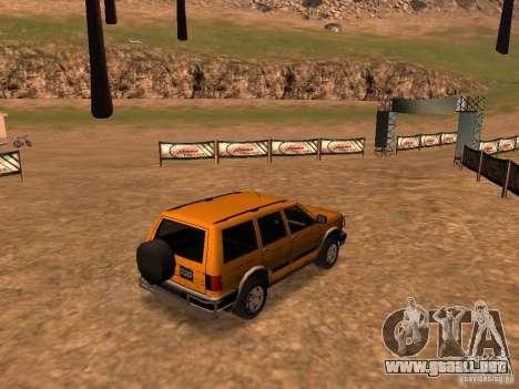 Mountainstalker S para GTA San Andreas vista hacia atrás
