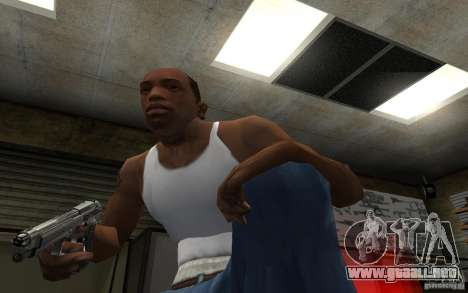 Barreta M9 and Barreta M9 Silenced para GTA San Andreas sexta pantalla
