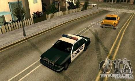 Los clavos en la carretera para GTA San Andreas sucesivamente de pantalla