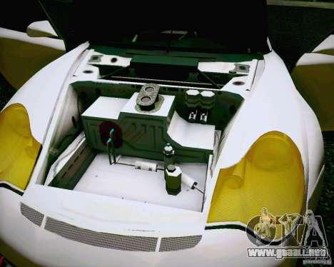 Porsche 911 GT3 para visión interna GTA San Andreas