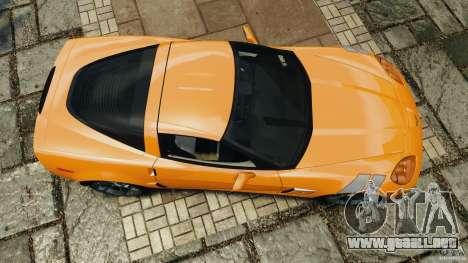 Chevrolet Corvette C6 Grand Sport 2010 para GTA 4 visión correcta