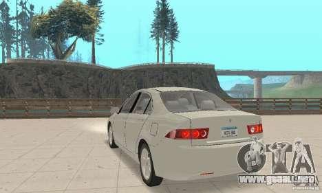 Honda Accord Comfort 2003 para GTA San Andreas left