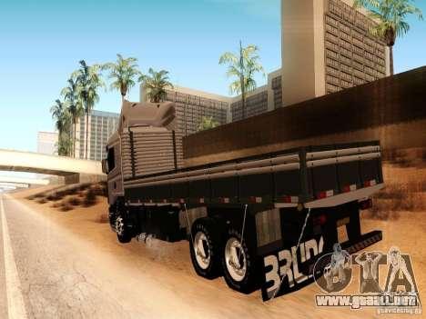 Scania 124G R400 para la visión correcta GTA San Andreas