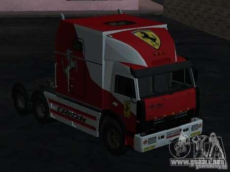 KAMAZ-54112 SECRETARÍA para GTA San Andreas