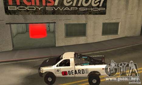 Dodge Power Wagon Paintjobs Pack 2 para GTA San Andreas left