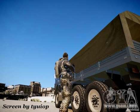 Modern Warfare 2 Soap para GTA 4 tercera pantalla
