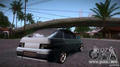 VAZ-2112 LT para la visión correcta GTA San Andreas