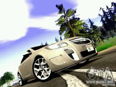 Opel Insignia para la visión correcta GTA San Andreas