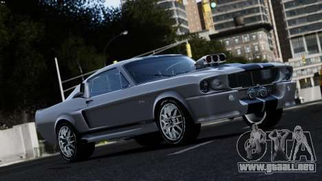 Ford Shelby Mustang GT500 Eleanor para GTA 4