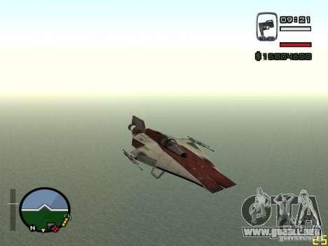 Combatiente de la ciudad de Alien para GTA San Andreas