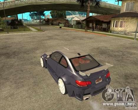 BMW M3 E92 TUNED para GTA San Andreas left