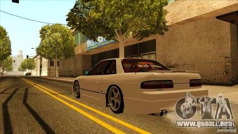 Nissan Silvia S13 MyGame Drift Team para visión interna GTA San Andreas