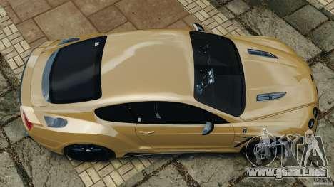 Bentley Continental GT Premier v1.0 para GTA 4 visión correcta