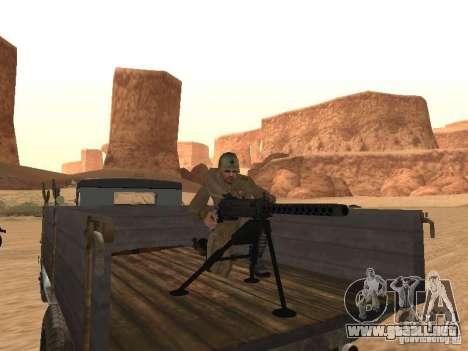 Un soldado soviético para GTA San Andreas