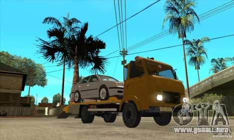 Camión de remolque Avia A31 para GTA San Andreas vista hacia atrás