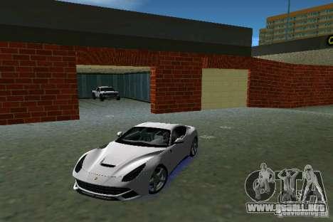 Ferrari F12 Berlinetta para GTA Vice City left