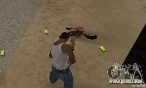 GTA SA Real ragdoll para GTA San Andreas tercera pantalla