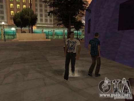 Black Stallion Peds para GTA San Andreas tercera pantalla