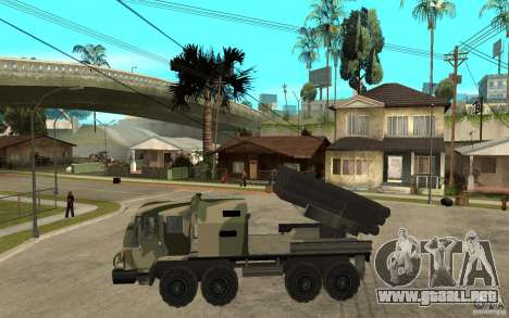 Missile Launcher Truck para GTA San Andreas left
